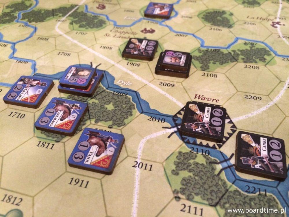 Bitwa pod Wavre. Francja kontra Prusy