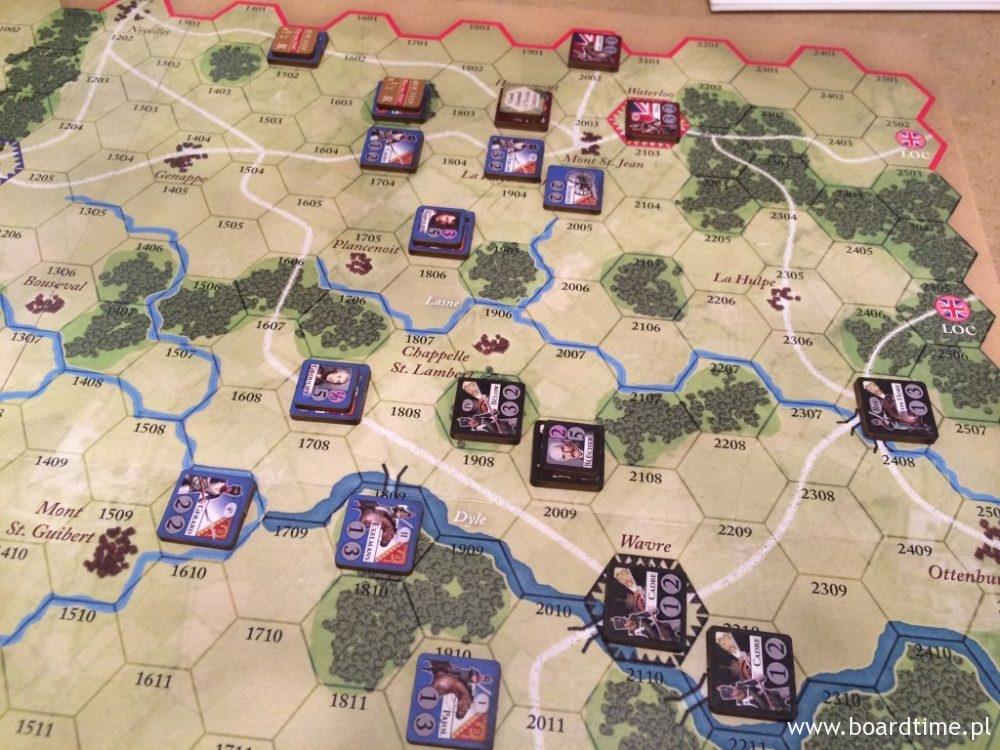 Trwa wymiana ciosów zarówno pod Waterloo jak i pod Wavre