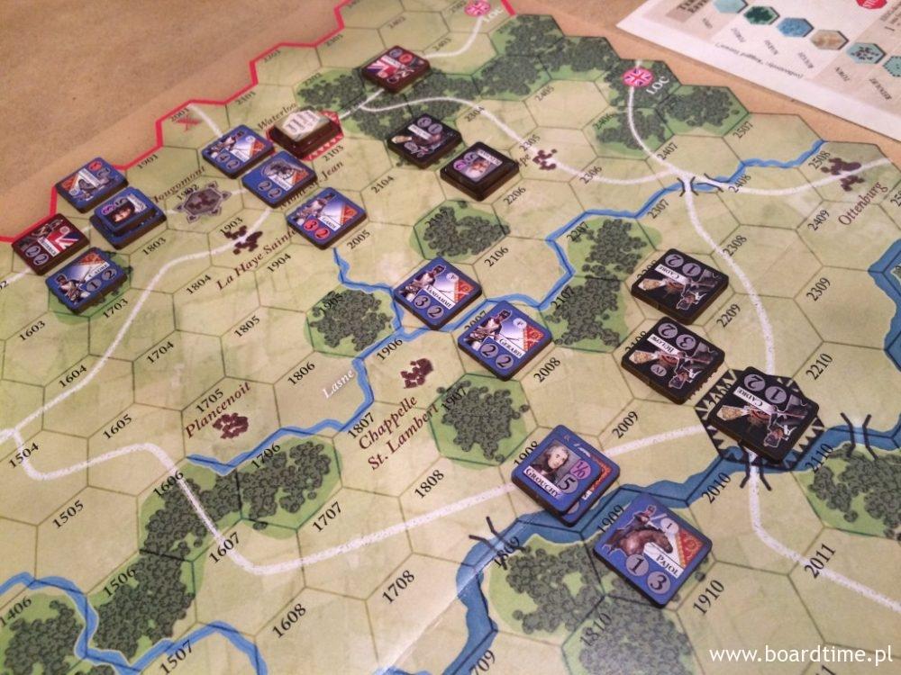 Prusacy dotarli pod Waterloo w ostatniej chwili