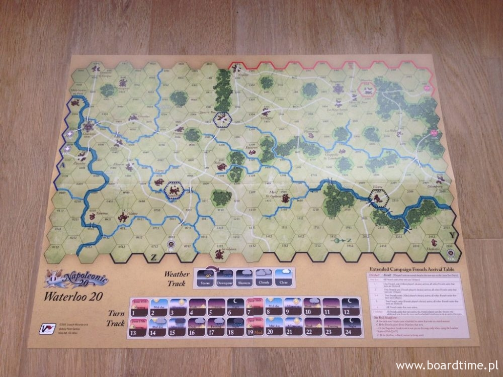 Mapa do Waterloo 20