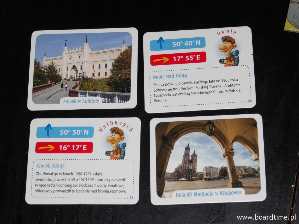 Karty atrakcji turystycznych