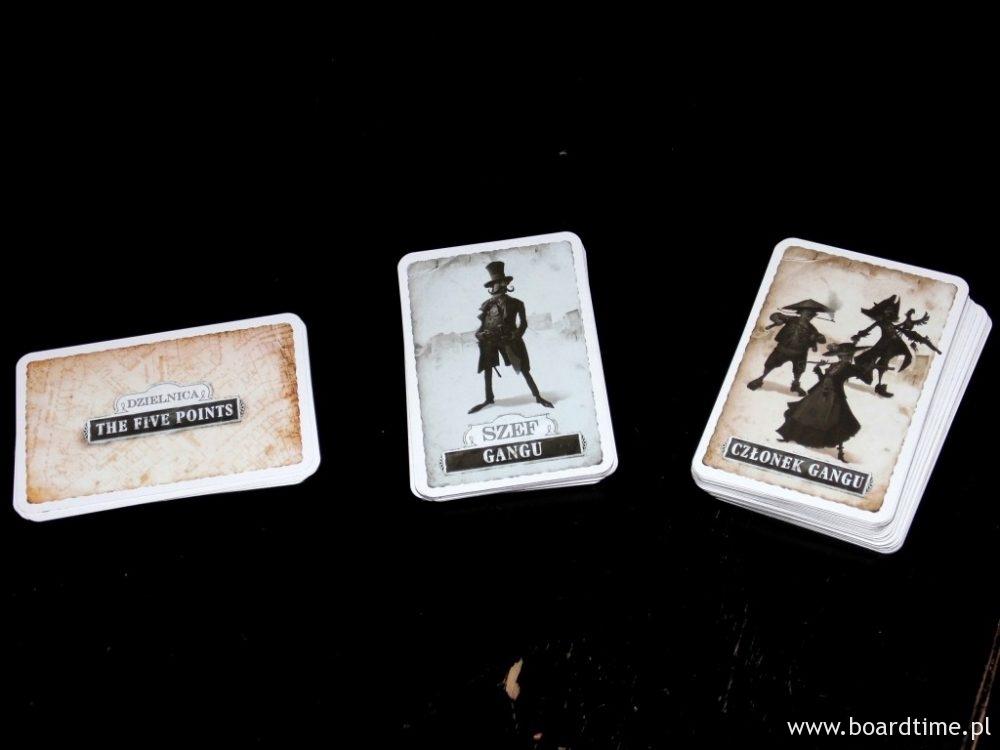 Trzy rodzaje kart