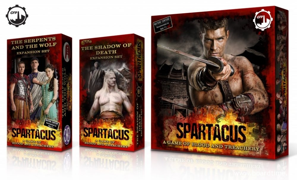 SPARTACUS BOX KOMPLET new 3D