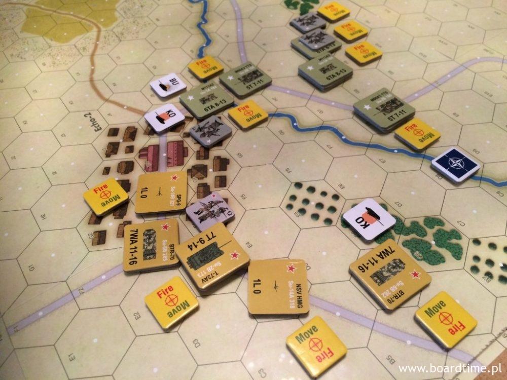 W mieście samotne czołgi mogą stanowić łatwy cel dla piechoty