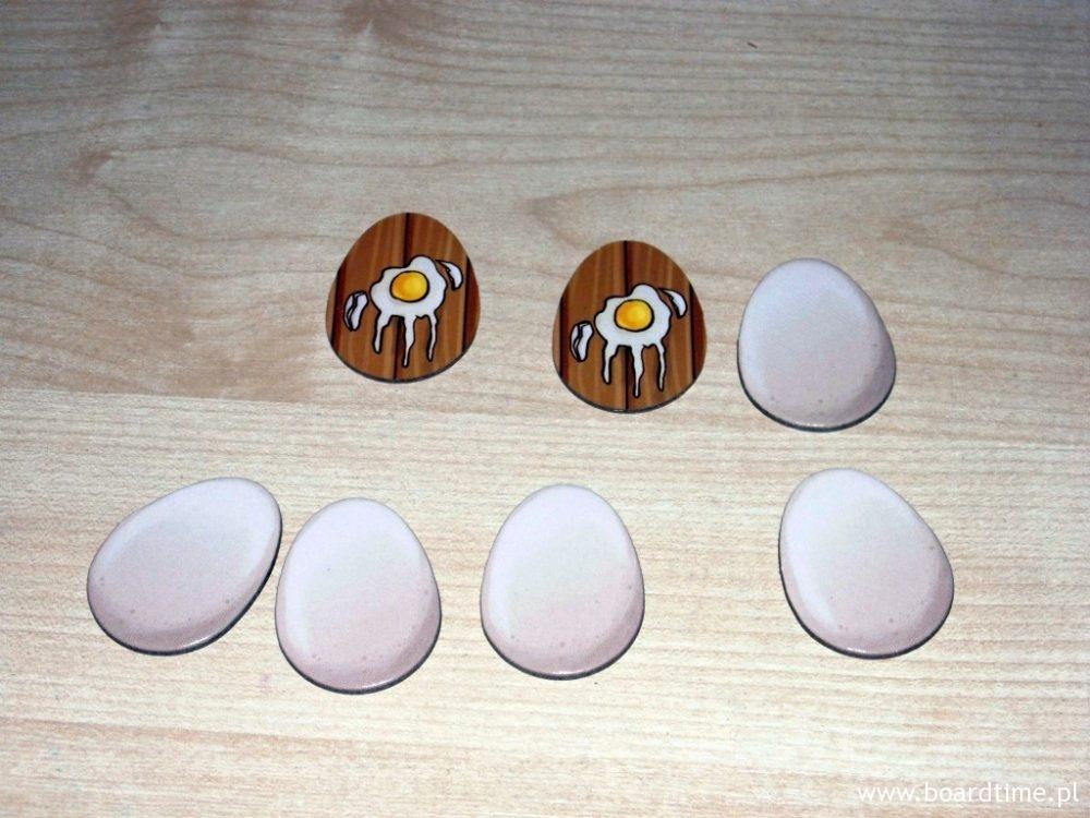 Jajka odmierzają rundy