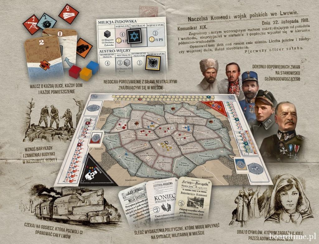 Znalezione obrazy dla zapytania Semper Fidelis bitwa o lwów 1918