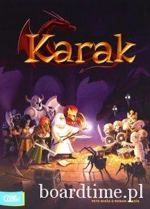Najlepsze gry planszowe dla dzieci - Karak - Albi