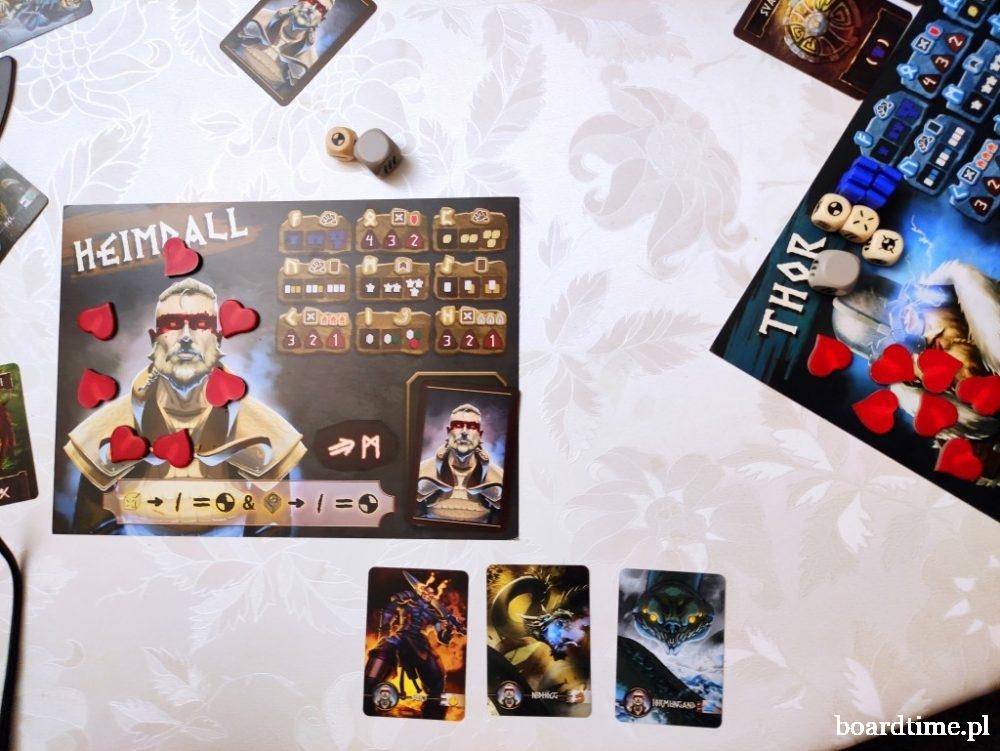 Yggdrasil: Kroniki - planszetki graczy
