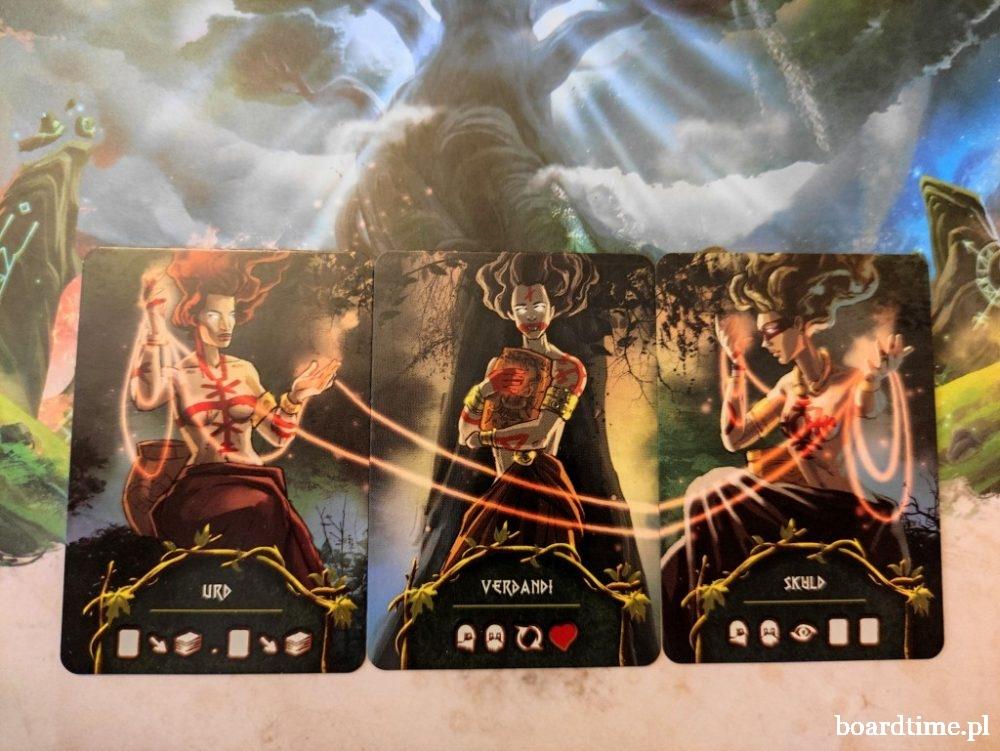 Yggdrasil: Kroniki - karty