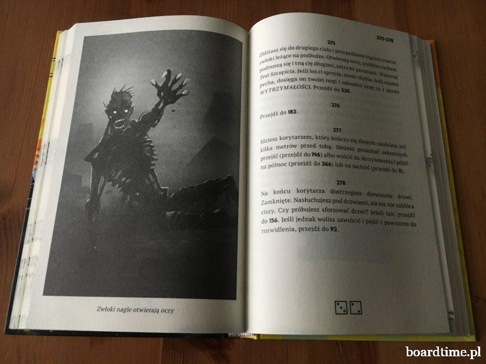 Czarnoksiężnik z Ognistej Góry - gra paragrafowa