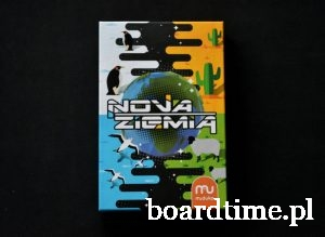 Nova Ziemia - okładka