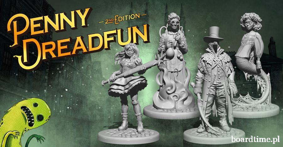 Penny Dreadfun 2nd edition