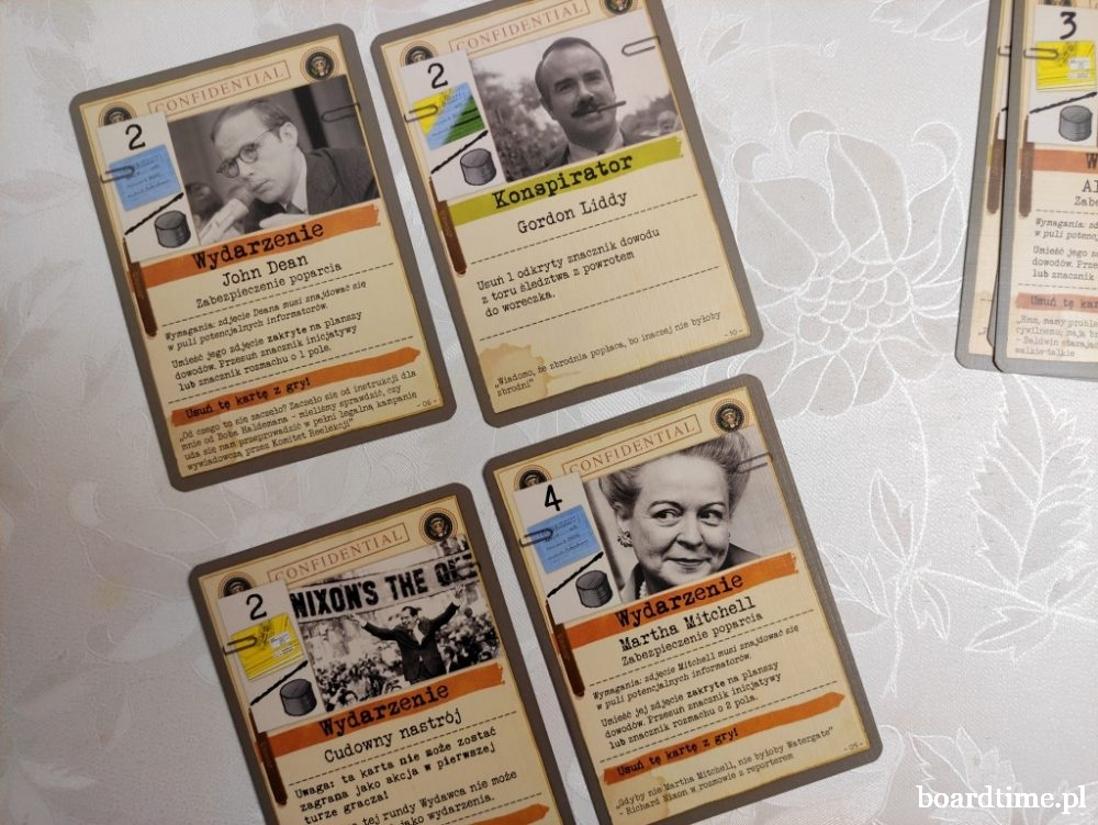 Watergate - dwuosobowa gra planszowa od Lucky Duck Games