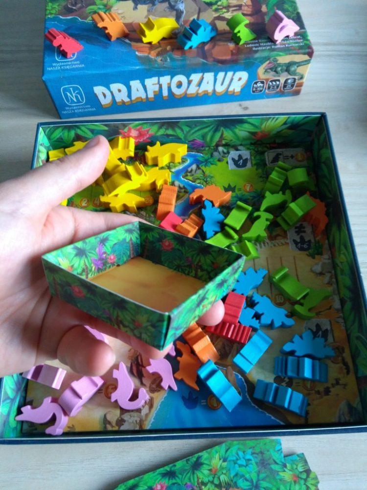 Draftozaur - gra planszowa