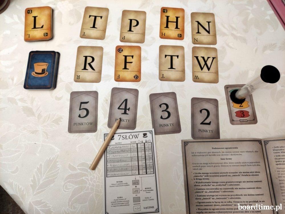 7 słów - gra planszowa od Fox Games
