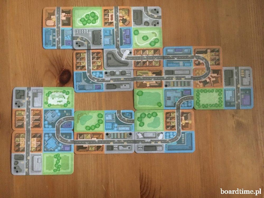 Urbanista gra planszowa od Lucky Duck Games