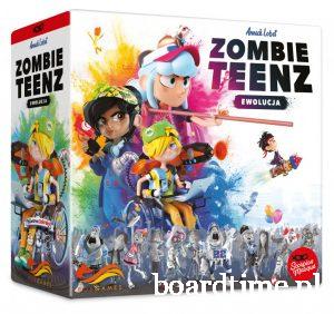 Najlepsze gry planszowe dla dzieci - Zombie Teenz - Fox Games