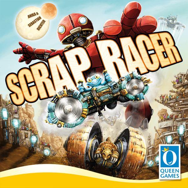 Scrap Racer gra planszowa Queen Games, Piatnik