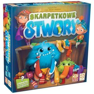 Najlepsze gry planszowe dla dzieci - Skarpetkowe Stwory - Galakta