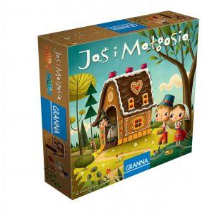 Najlepsze gry planszowe dla dzieci - Jaś i Małgosia - Granna