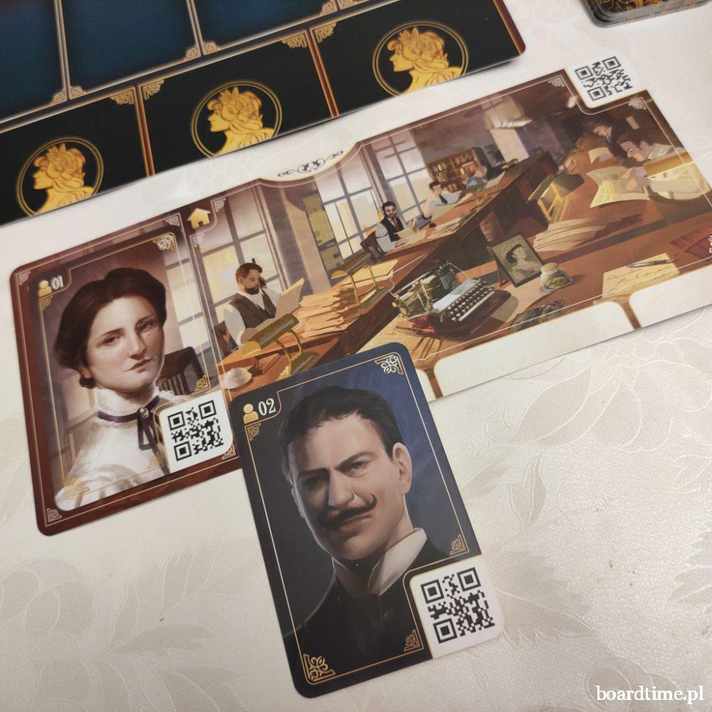 Kroniki Zbrodni: 1900 gra planszowa Lucky Duck Games