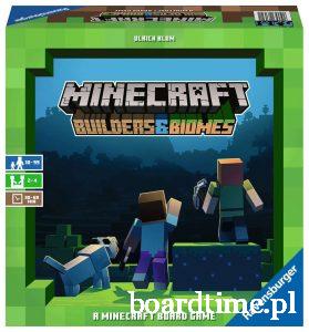 Najlepsze gry planszowe dla dzieci - Minecraft - Ravensburger