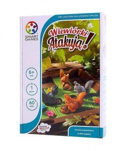 Najlepsze gry planszowe dla dzieci - Wiewiórki Atakują - Smart Games