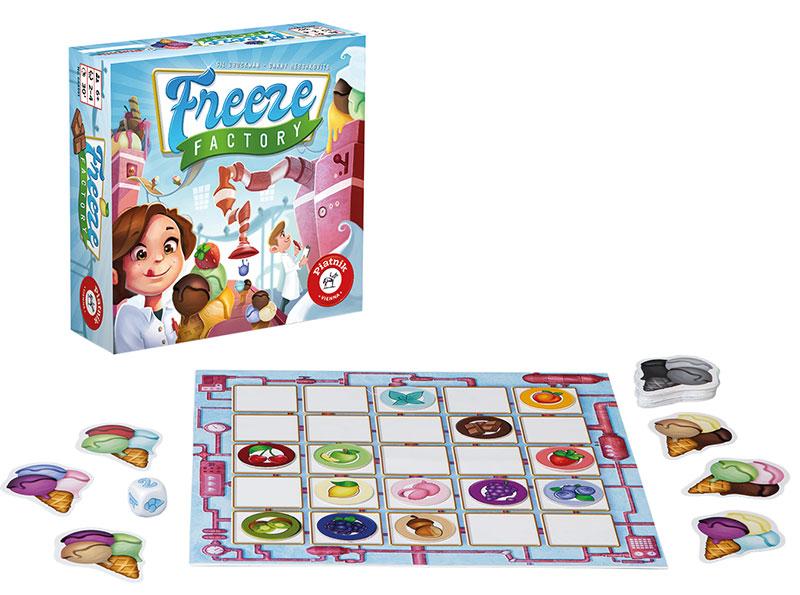 rodzinne gry planszowe - freeze factory