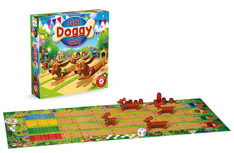 rodzinne gry planszowe Go doggy go