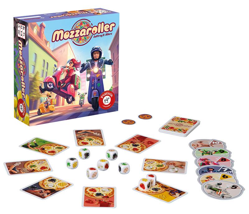 rodzinne gry planszowe - Mozzaroller