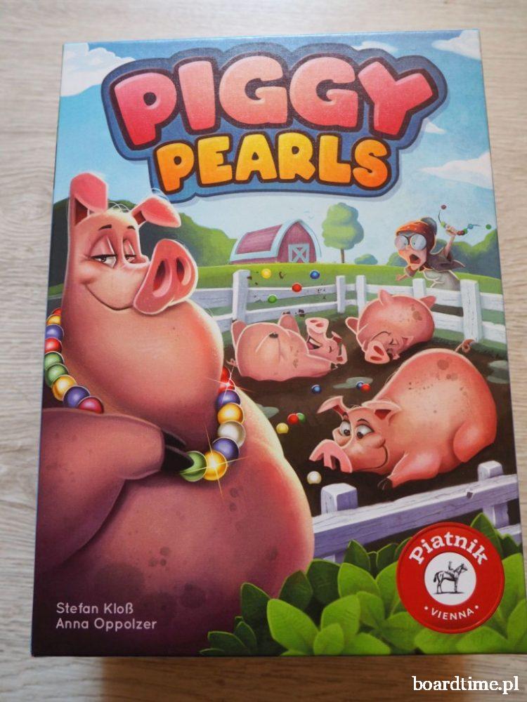 piggy pearls pudełko