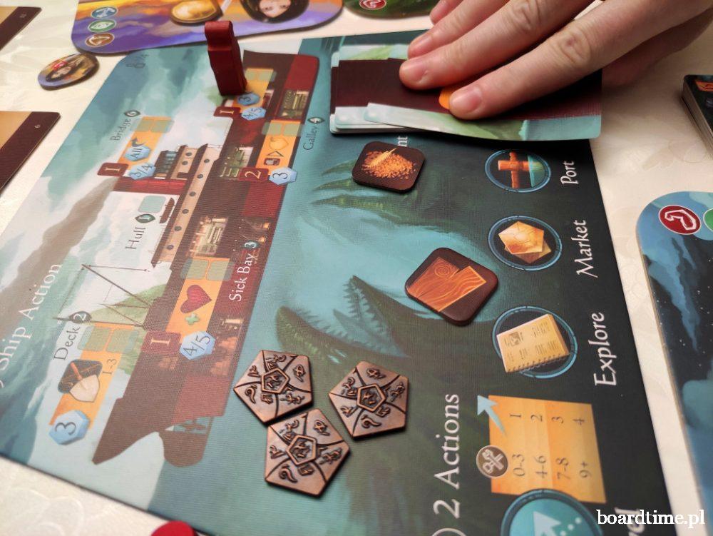 Sleeping Gods / Uśpieni Bogowie gra planszowa Lucky Duck Games